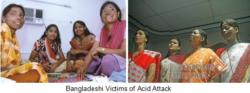 Bangladeshi-acid-attack-victims